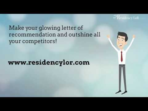 How to Write a Perfect Letter of Recommendation for Residency