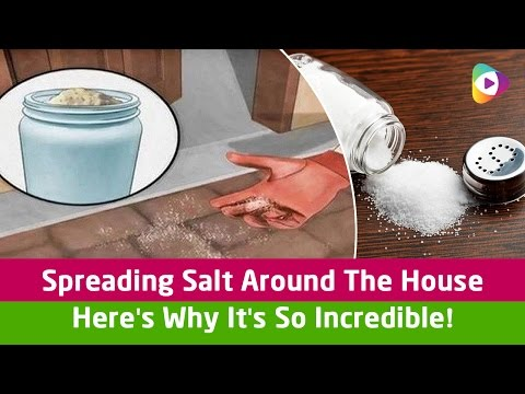Spreading Salt Around The House   Here's Why It's So Incredible! - Tubeston