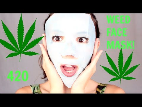 WEED FACE MASK! DOES IT WORK?