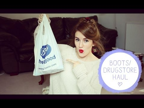 Boots/Drugstore Haul! |  RobynCaitlin