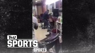 BOXER YUSAF MACK BEATS DOWN TWITTER TROLL IN BARBER SHOP... After Gay Attacks | TMZ Sports