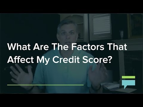 What Are The Factors That Affect My Credit Score? – Credit Card Insider