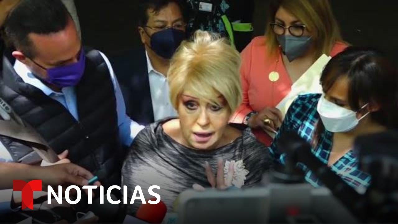 Anel Noreña es heredera universal de José José y canta al enterarse | Noticias Telemundo