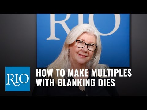 How To Make Multiples with Blanking Dies