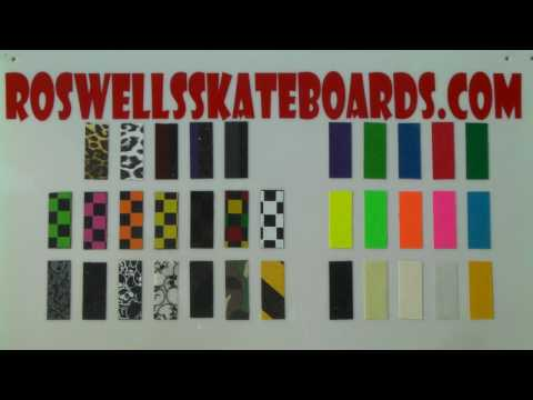Roswell's Ultra-Grip (Grip Tape for Tech Decks and Fingerboards)