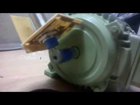 Induction motor speed control using V/F control done at PACE LAB -COCHIN