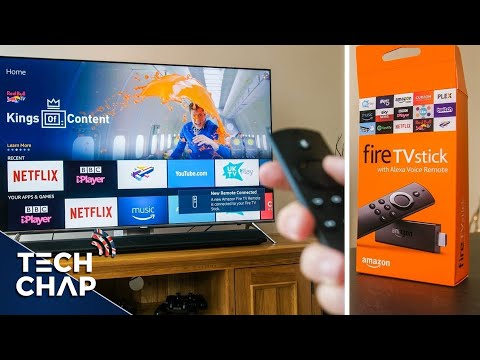 Amazon Fire TV Stick with Alexa Voice Remote REVIEW 2017   The Tech Chap
