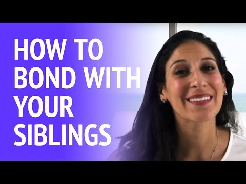 How can I improve my relationship with my siblings?