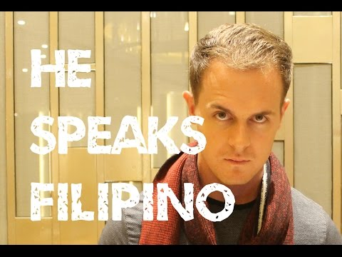 This Foreigner speaks Filipino! Why can't you?