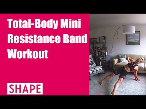 Total-Body Mini Resistance Band Workout