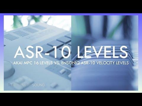 Akai MPC 2000 16 Levels vs. Ensoniq ASR-10