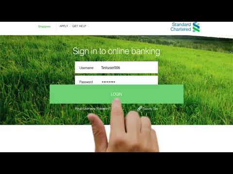 SG Online Banking - Transfer & Payment history