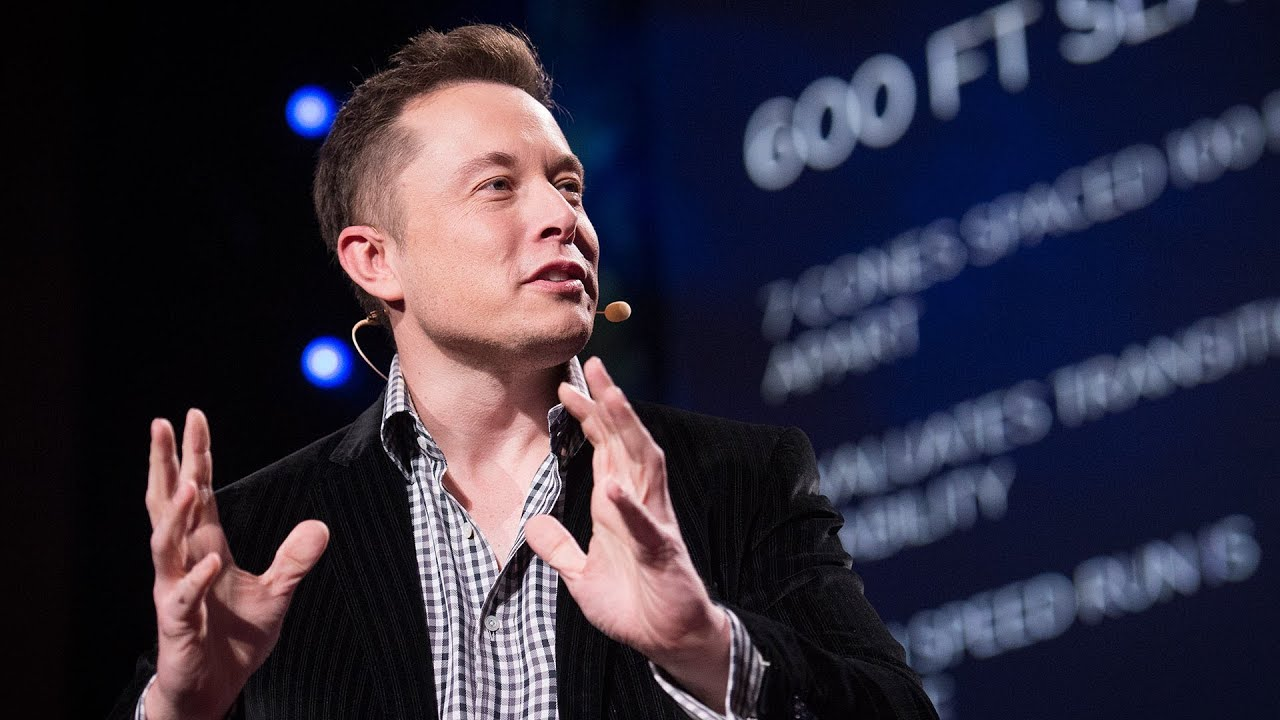 The mind behind Tesla, SpaceX, SolarCity ...   Elon Musk