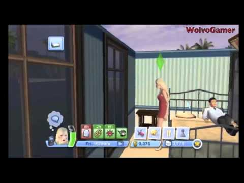 The Sims 3 Wii Gameplay Marriage | Woohoo | Pregnancy and Birth | Moving home | PC | XBOX | DS | PS3