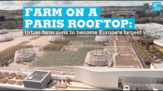 Farm on a Paris rooftop: Urban farm aims to be Europe's largest