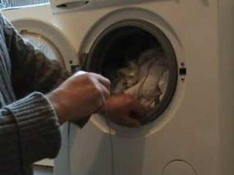 fitting washing machine retaining ring