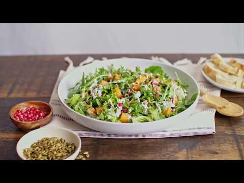 Salade aux lentilles et courge   Calendrier du lait 2018