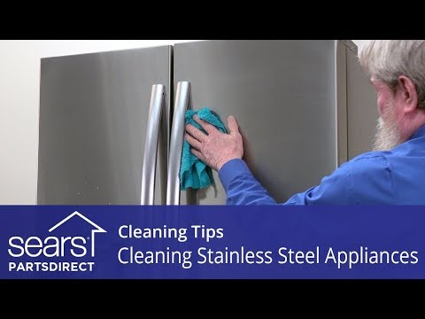 Cleaning Stainless Steel Appliances