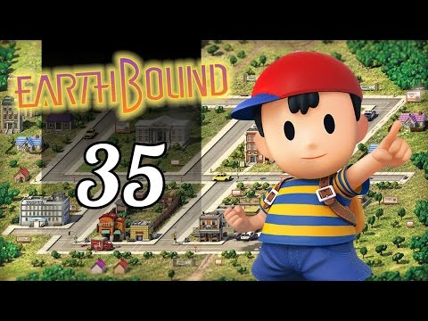 EarthBound   35   Fourside Sewers