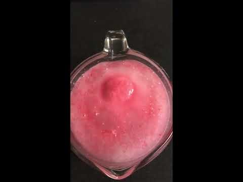 Love Spell Bath Bomb Test