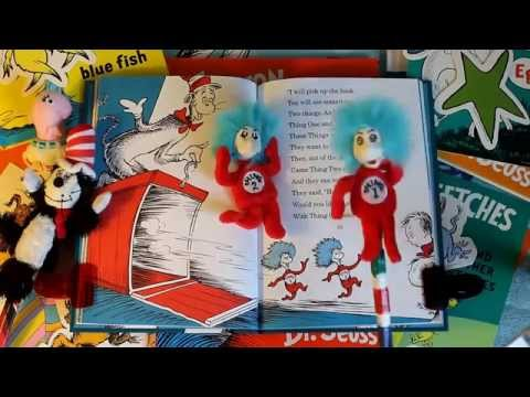 (Puppets Read) CAT IN THE HAT By Dr. Suess!