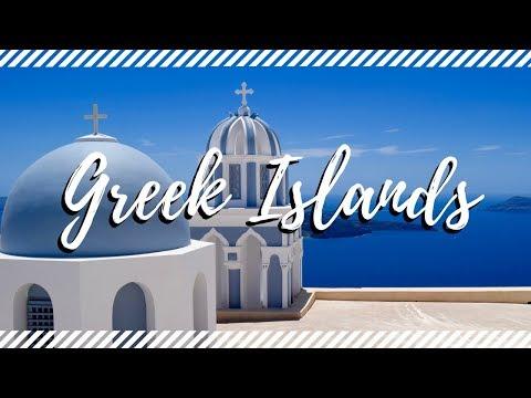 GREEK ISLANDS || Cruise Stops In Santorini & Mykonos || Travel Vlog