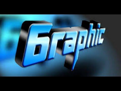 cara buat tulisan 3D Photoshop