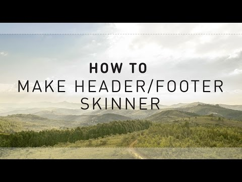 How to Make Header and Footer Skinnier [Ultra Theme]