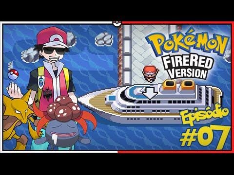 Pokémon Fire Red Let's Play #7: Representando o Bill no Navio S.S. Anne