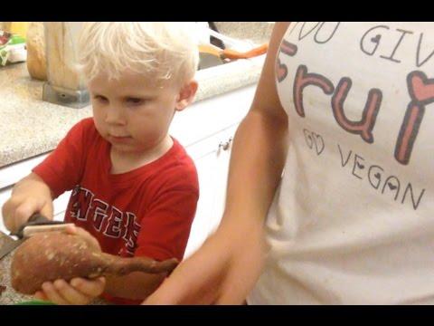 HCLF Vegan Toddler Dinner