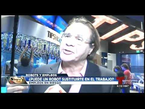 Ronnie Najarro from the LIBRE Initiative speaking on Telemundo Las Vegas