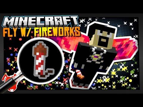 FLY w/ FIREWORKS in MINECRAFT? / Snapshot 16w50a & 1.11.1