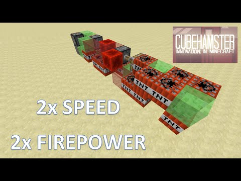 TNT Missile - Cruiser Missile in Minecraft for PC XBOX and Playstation + Tutorial