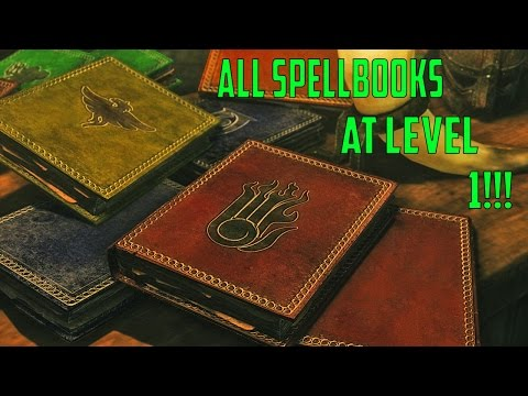 Skyrim Special Edition Guide: How to get All Vendor Spells at Level 1