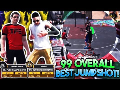 99 OVERALL GAVE ME HIS SECRET JUMPSHOT!! New Best Jumpshot In NBA 2K18!?