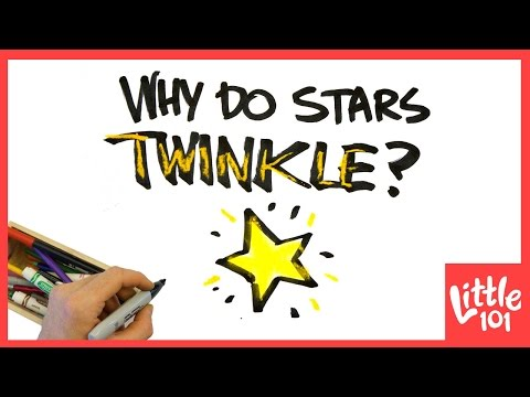 Why Do Stars Twinkle? | Little 101 | PBS Parents