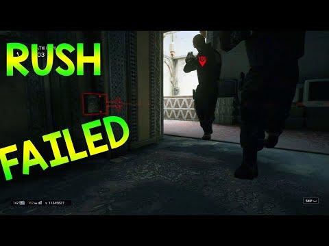 RUSH FAILED - Rainbow Six Siege