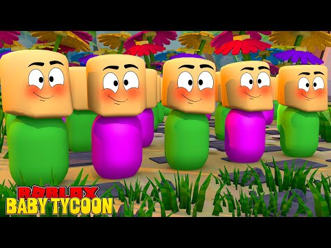 Roblox Baby Tycoon With Molly And Daisy!
