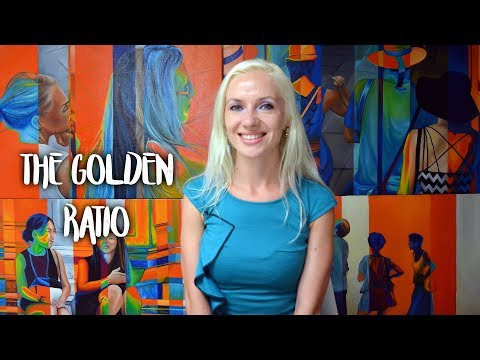 The golden ratio  - Art theory by Oana Unciuleanu