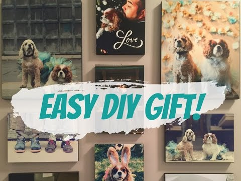 Under $10! Last Minute Gift idea! Walgreens Wood Photo Panel !Review! DIY!