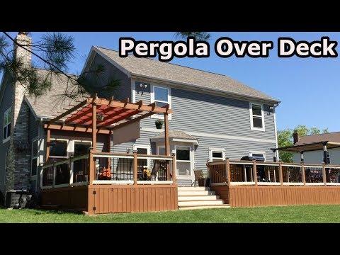 Building Pergola Over Deck