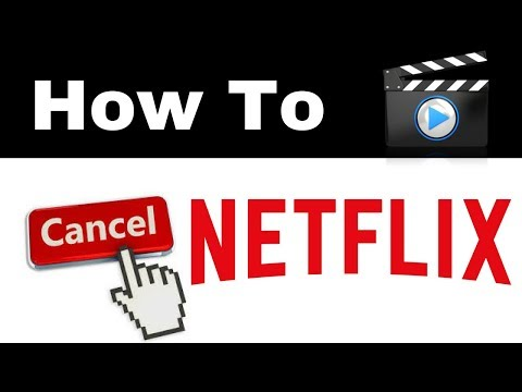 How To Cancel Netflix Account Subscription  | Delete Unsubscribe Deactivate Free Trial 2018