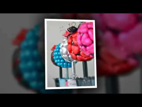 Wedding Party Decorations - Candy Bouquets & Buffets UK