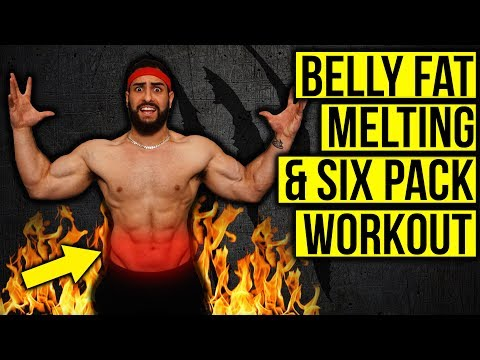 Lower Belly Fat Burning & Six Pack Home Workout (NO EQUIPMENT!!)