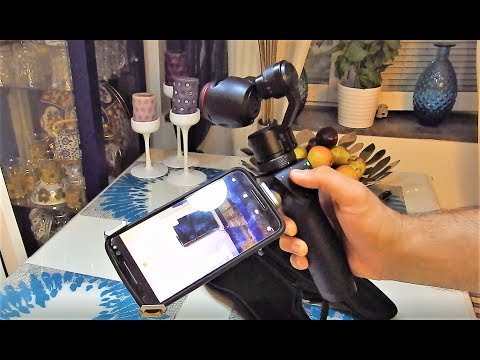 DJI OSMO Unboxing and Facebook Live Stream