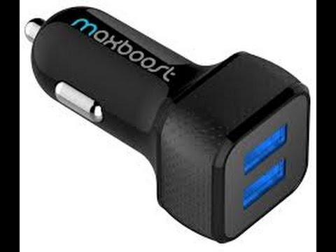 Maxboost Dual Port Universal USB Car Charger Review