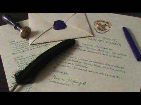 Hogwarts Acceptance Letter | Quiller Crafts [CC]