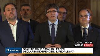 Spain Said Ready to Arrest Catalan Leader