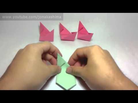 Origami Magic Rose Cube Valerie Vann)