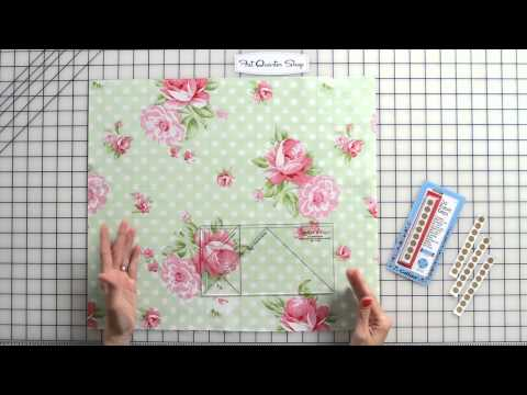 How to Use Fabric Grips to Cut Fabric - Fat Quarter Shop